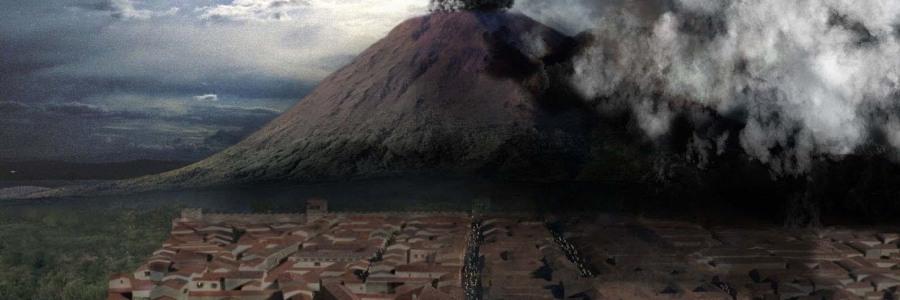 Volcán Vesubio Pompeya Turistas