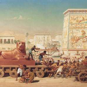 egipto antiguo en colores