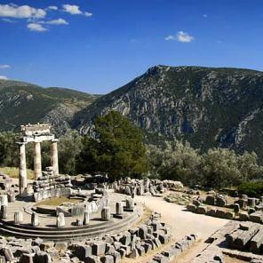 Delfos, tholos Atenea Pronaia