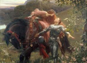 el beso medieval