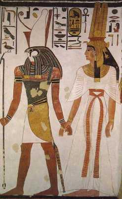 Pintura tumba de Nefertari