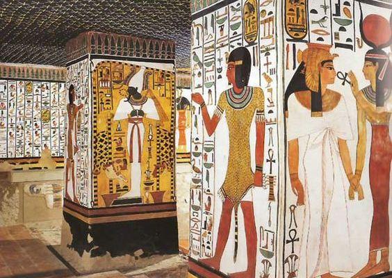 El Esplendor De Las Pinturas En El Imperio Nuevo Egipcio