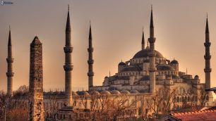 Mezquita azul.